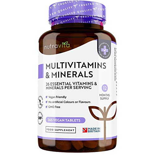 Photo de multivitamines-et-mineraux-de-nutravita